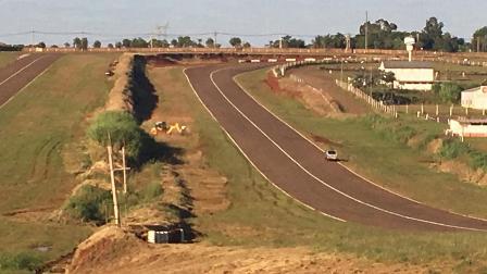 TC en Posadas: Comenzaron los trabajos en el autódromo