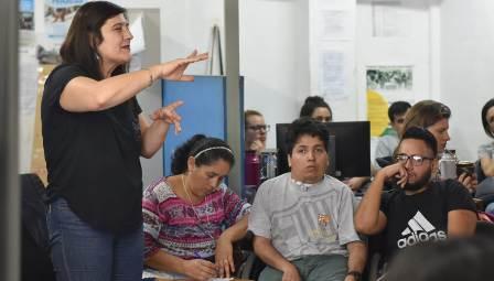 Comenzó el taller Orientación al Trabajo Independiente en la Oficina de Empleo